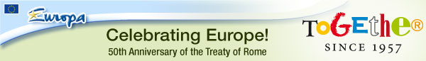 Celebrating Europe! - 50th Anniversary of the Treaty of Rome