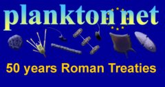 PLANKTON*NET celebrates 50 years of the Treaty of Rome