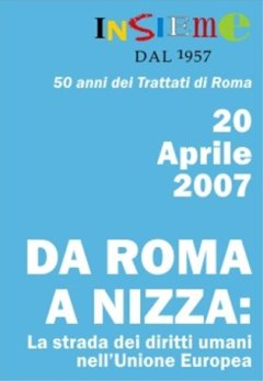 From Rome to Nice: the course of human rights in EU history