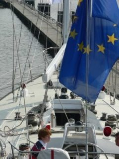 Official launch of the sailing boat Treaty of Rome