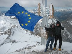 Europe day hits the heights