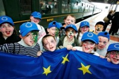 Trains, planes and automobiles help mark Europe day