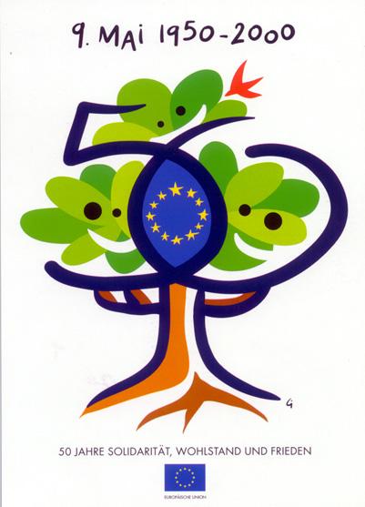EUROPA - Die Symbole der Europäischen Union - 9. Mai - Europatag ...