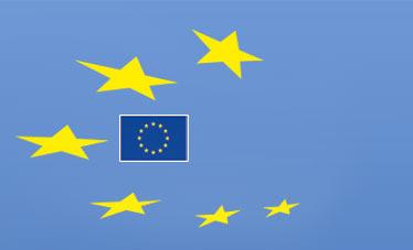 La bandera europea