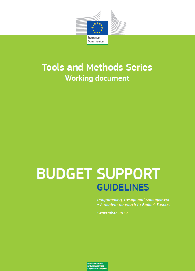 Budget Support Guidelines