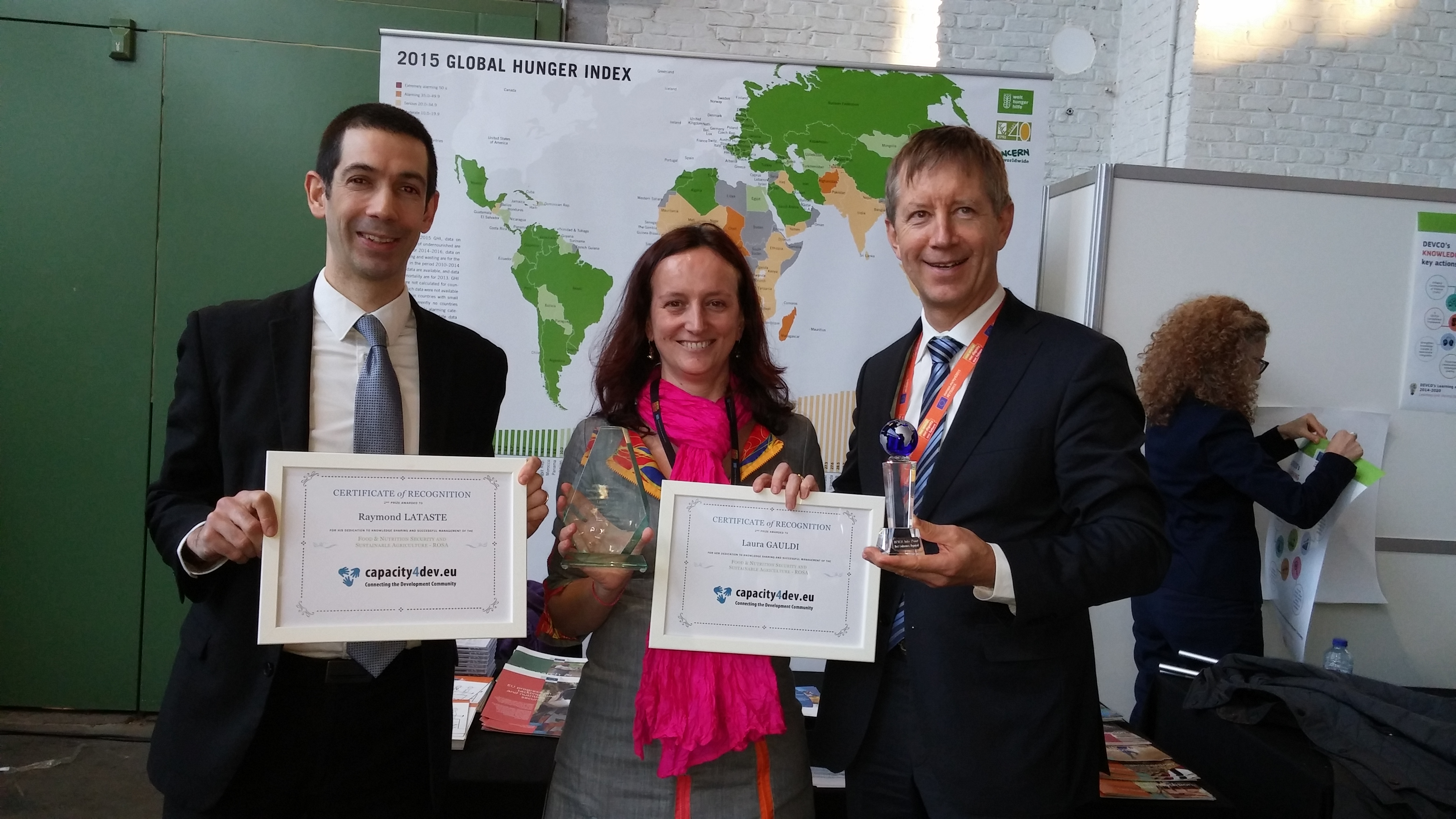 Award for the Operational Food Security Network
