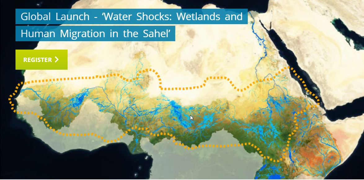 global launch water shocks wetlands and human migration in the