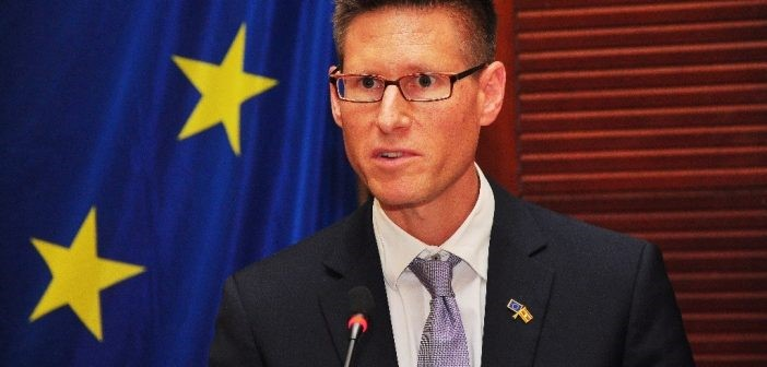 Mr. Tiedemann, European Union Acting Head of Cooperation in Uganda