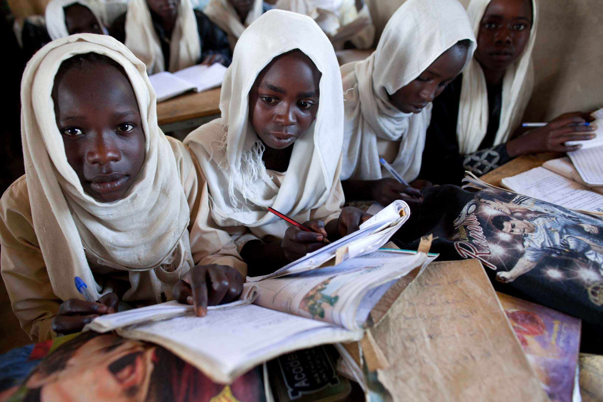 15 million primary school age girls are out of school worldwide