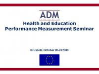 Performance Management in Health and Education Sectors