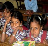 School children in Karnataka, India