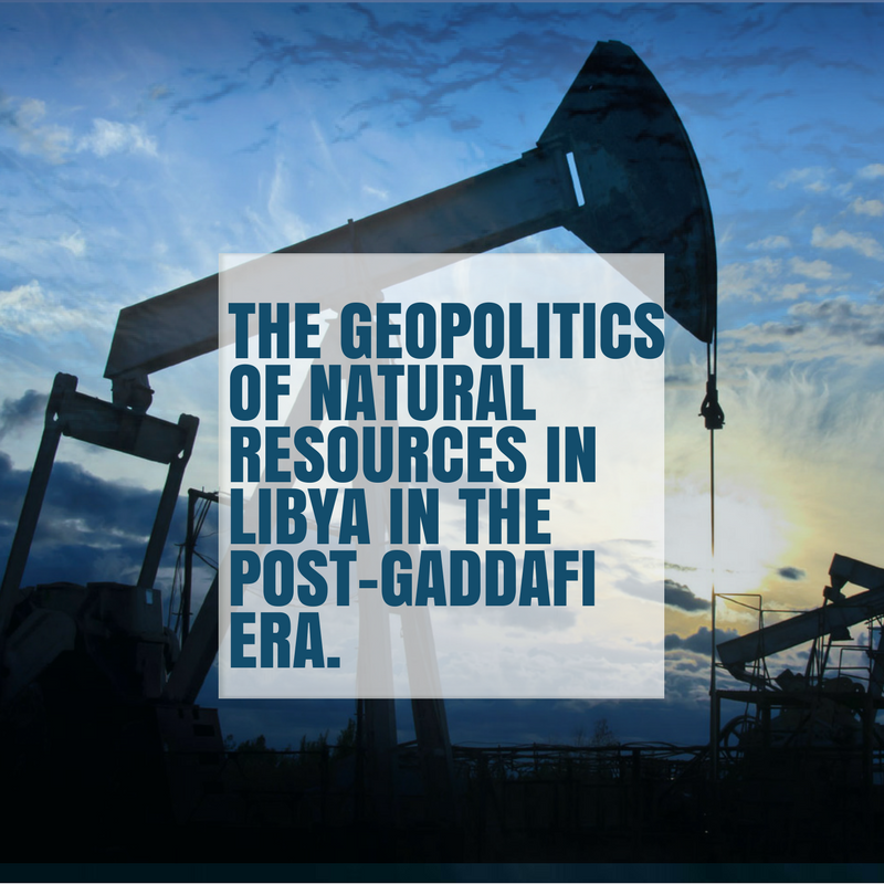 Geopolitics of Natural Resource Disputes