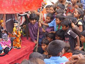 puppet show india