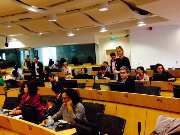 The Policy Forum on Development in Brussels. October 2014