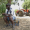 Matthias Ndhlovu, Lead Farmer at Kumatsimo Farm, Kanakantapa Camp