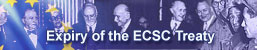 Expiry of the ECSC Treaty