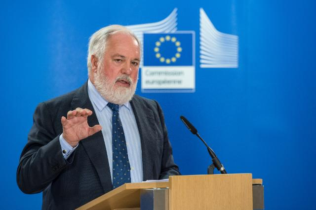 European Commissioner for Climate Action & Energy Mr Arias Cañete