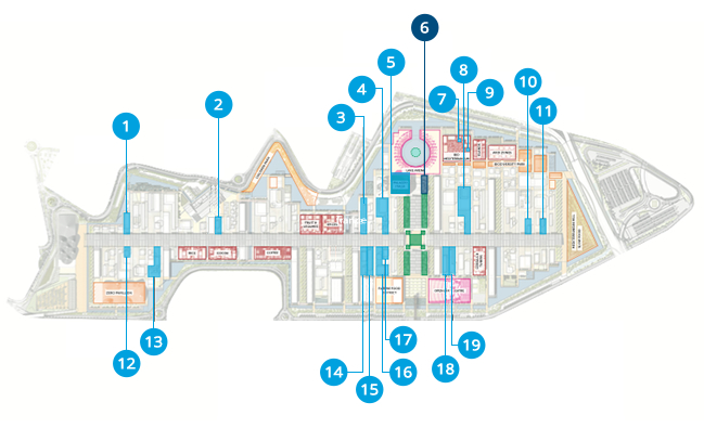 EXPO MILANO 2015 - MAP