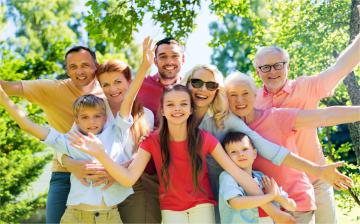 A group of cheery people of all ages © EU
