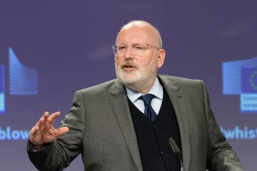 Citizens Dialogue In Copenhagen With First Vice President Frans Timmermans