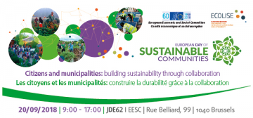 Day of Sustainable Communities © EU