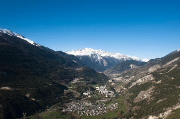 View of mountains in the Alps © EU