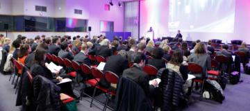 An audience at an event © EU