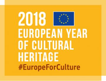 Logo of the 2018 European Year of cultural heritage © EU