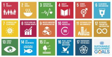 Symbols of the SDGs © EU