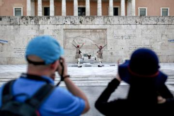Tourists taking pictures © EU