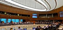 View of Council meeting room, Luxembourg © EU