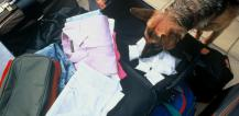Police dog discovers drugs in luggage © EU