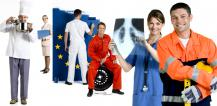 Six people representing different professions © EU