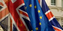 British and European flags © EU