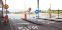 Customs checkpoint on Finland-Russia border © EU