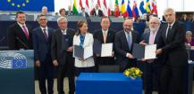 Cérémonie de ratification de l'accord de Paris (COP21) ©UE