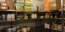 Food in storage facility © EU
