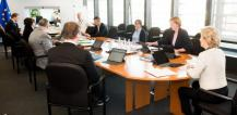 View of weekly Commission College meeting © EU
