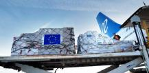 Air delivery of humanitarian aid © EU