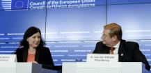 Ms Vera Jourova and Mr Ard van der Steur © EU