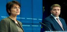 Ms. Marianne THYSSEN, Member of the European Commission; Mr Uldis AUGULIS, Latvian Minister for Welfare © EU
