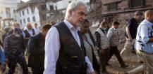 EU Commissioner Christos Stylianides in Nepal © EU