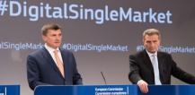 Andrus Ansip and Günther Oettinger © EU
