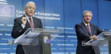 From left to right: Mr Dimitrios AVRAMOPOULOS, Member of the European Commission; Mr Jean ASSELBORN, Luxembourg Minister for Foreign and European Affairs, Minister for Immigration and asylum © EU