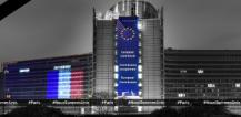 Berlaymont with French flag © EU