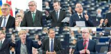 MEPs and President Juncker at plenary session © EU