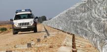Patrol vehicle and security fence © EU