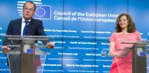 Mr Tibor Navracsics and Ms Edith Schippers © EU