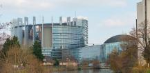 View of European Parliament building in Strasbourg © EU