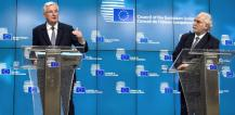 Michel Barnier and Louis Grech © EU